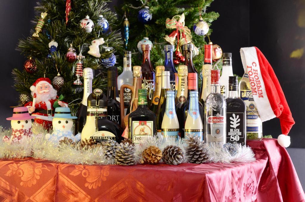 christmas gift wine 1