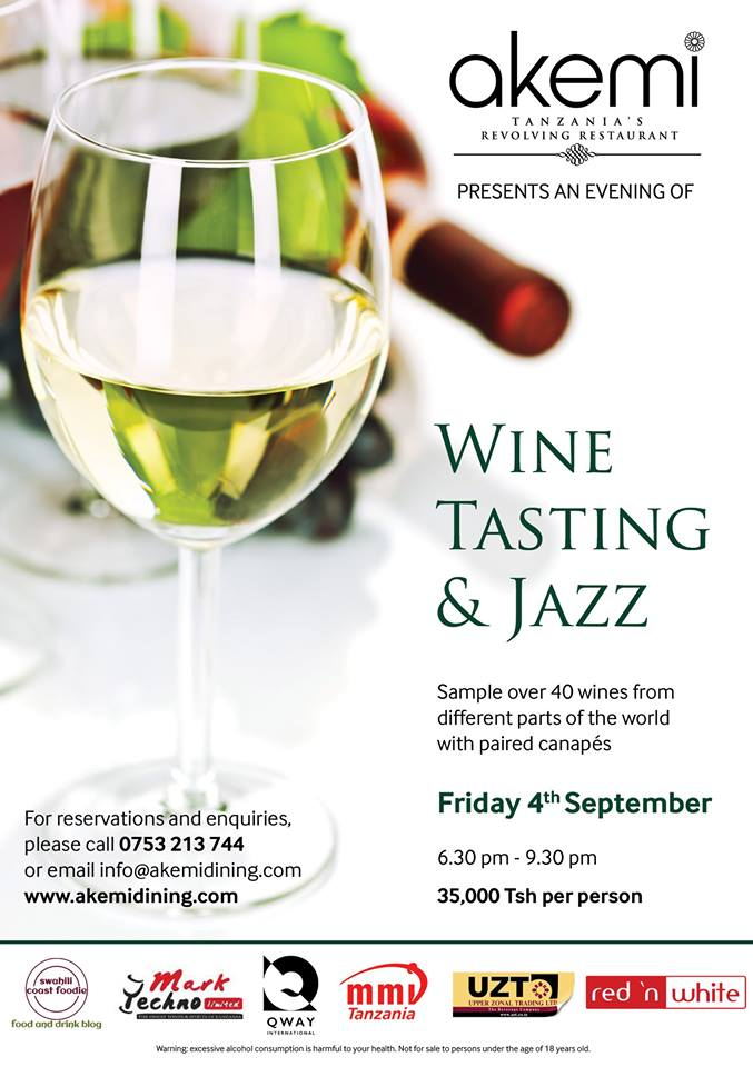 AKEMI WINE & JAZZ EVENT SEPTEMBER 2015