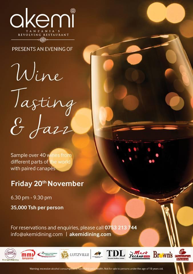 akemi wine and Jazz November 2015