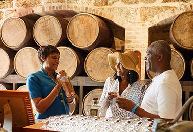 Barbados is home to the oldest commercial rum distiller and there are ample opportunities to discover more about this famed island drink.