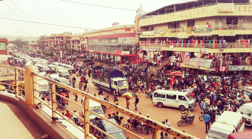 Helene Kansime's prize-winning image of Kampala.