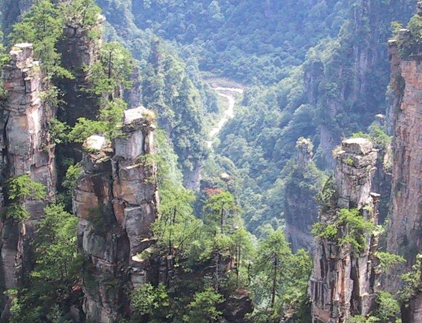 By Photo taken by Gjl From en Image Wulingyuan from Tianzishan